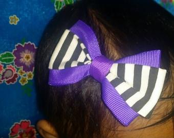 Hmong Bow Hair Clip (Barrette Clip)