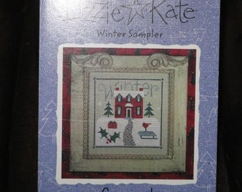 Lizzie Kate Snippet Cross Stitch Patter - Winter Sampler