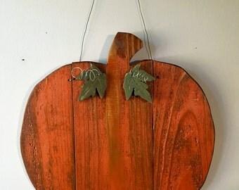 Pumpkin Wall Decor, Pumpkin Door Hanger, Wood Crafts, Fall Decorations, Halloween, Thanksgiving