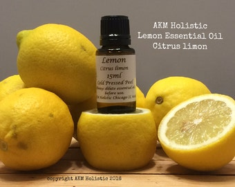 Organic Lemon Essential Oil 15ml