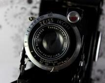 Zeiss Ikon Nettar 515/2 6x9 120 folding medium format camera Lens Tessar 1.45 105