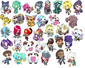 League of Legends Art Stickers