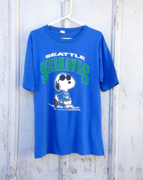 Womens Vintage Seahawks Shirt