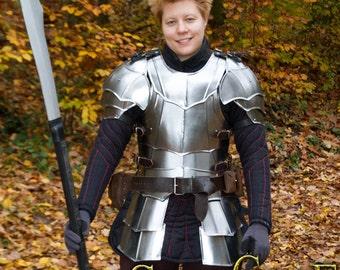 "Larp Female Fantasy Costume steel  armor: Female Cuirass ""Lady Pheonix"""