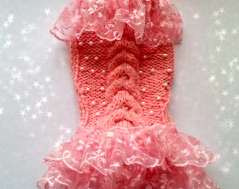 dog clothes.Clothing for dog.Dog Dress. Dog clothes.Small dog dress tutu. Small dog clothes
