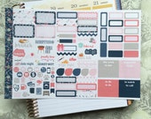 Brave Wings Personal Foldout! One tri-folded sheet, for your personal ring bound planner, Kikki K, Filofax, Kate Spade, Color Crush