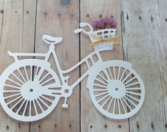 Bicycle die cuts, Bicycle cutouts, large die cuts, Bicycle garland, follow your heart, Large bicycle die cuts, bicycle garland DIY