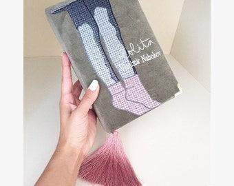 Book Clutch LOLITA by Vladimir Nabokov - fashionable book clutch - clutch with a book cover - different colors - 100% handmade