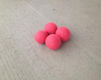 Felted Wool Dryer Balls Eco - 100% Wool - Set of 4 Eco Dryer Balls