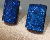 Custom glass earring