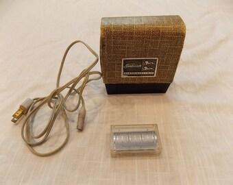 Vintage sunbeam shavemaster model 140 electric shaver
