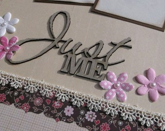 Scrapbook Page Kit titled Just Me