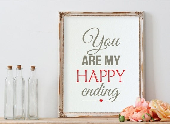 Most Romantic Wedding Gift For Husband : ... Gift, Love Quote, Love Prints, Wedding Gift, Husband Wife Gift, Fiance