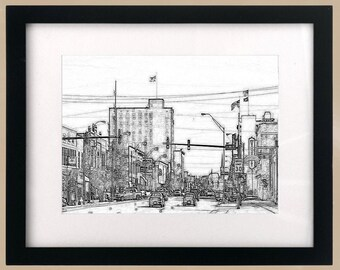 Fort Smith, Arkansas CityScape Print