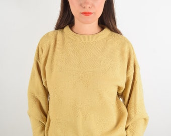 Vintage Jumper with bows Made in Britain (1473)