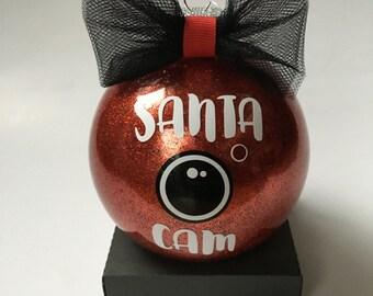 SALE! 30% OFF | Santa Camera Ornament