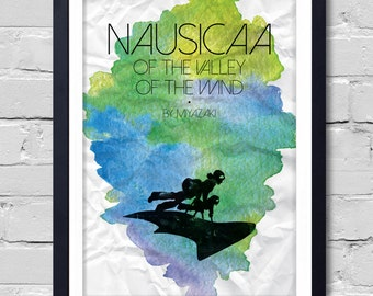 Nausicaa of the Valley. Poster