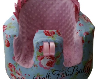 Handmade cover for Bumbo seat  with or without holes for straps, baby shower,Cath Kidston fabric