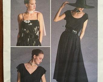 Vogue 1909  Size 10, Top & Skirt by American Designer Ralph Lauren.