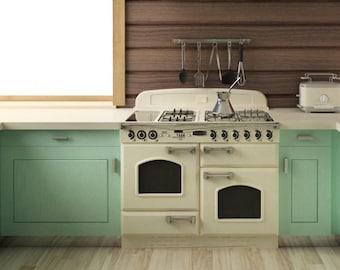 8ft X8ft Vinyl Photography Backdrop Kitchen Cookinghouse Photo Drop Vinyl Painted Photo Backgrounds D-7555