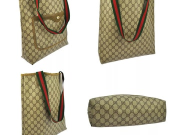 Vintage Gucci Tote Bag Purse! Made in Italy, Authentic