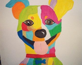 custom made dog portrait!