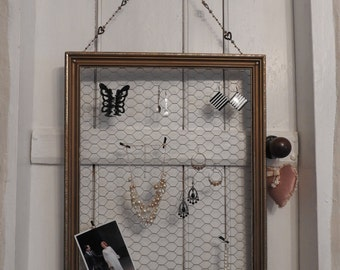 Notice board/jewelry display frame