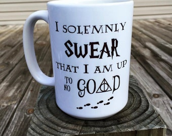 I solemnly swear that I am up to no good - Harry Potter Coffee mug