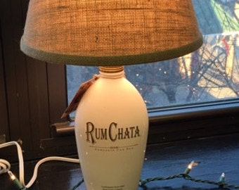 Rum-Chata Lamp