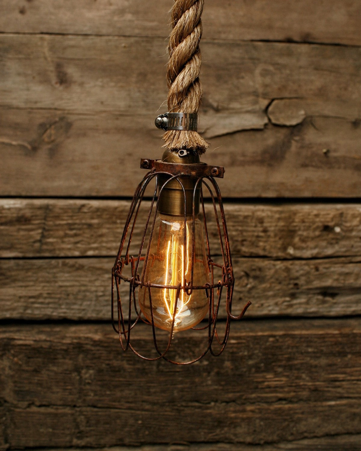 Items Similar To Rustic Light Pendant Lighting Pulley On Etsy: The Barn Pulley Pendant Light Edison Bulb By MoonStoneFox