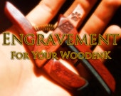 Engravement Package for your WoodenK (An add-on to your capo purchase)