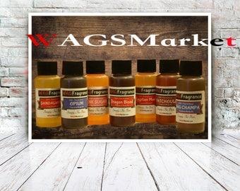 PATCHOULI (1oz) Fragrance Body Oil By WAGSMarket