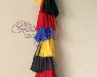 ONE SuperHero/Marvel Inspired Balloon Tassels