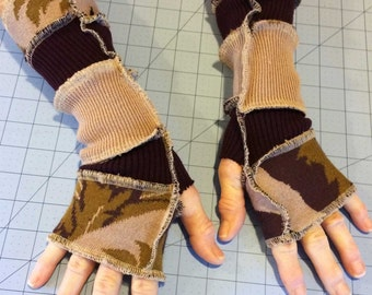 Upcycled Sweater Armwarmers - Inspired by Katwise