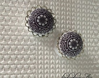 16mm 'Tribal' Double Flared Plugs