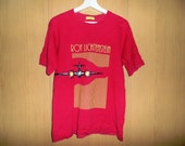Vintage Roy Lichtenstein fashion designer Indie Rock Grunge Punk Style T Shirt Made in Japan bape