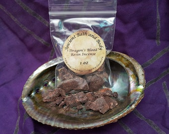 Dragon's Blood Resin Incense 1oz, Resin Incense, Spiritual Incense,