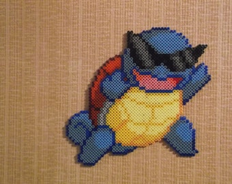 Thug Life Squirtle Pixel Art