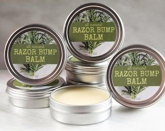 Organic Razor Bump Balm   Razor Bumps   Balm   Organic Balm   Natural Balm   Vegan Salve   Razor Bump Balm   Organic Skin Care
