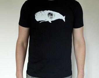 Happy Camper II - Black Screen Printed Shirt