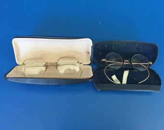 Two Pair of Vintage Eyeglasses