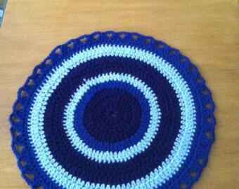 Chair seat cushion crochet pattern