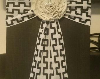 Fabric Wood Cross