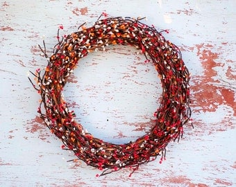 Holiday Wreath,Grapevine wreath