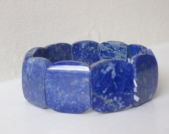 Beautiful handmade lapis lazuli bracelet