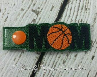 Basketball Mom Keychain- Spiritwear - Sportsmom - Team Gift - Team Mom - Sports - Women's Gift - Gift for Mom