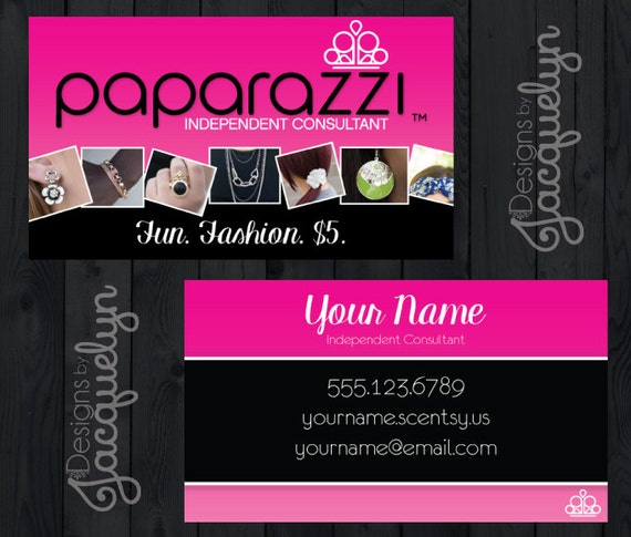 Paparazzi Accessories Business Cards w Product