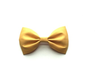 Honey Mustard cotton bow