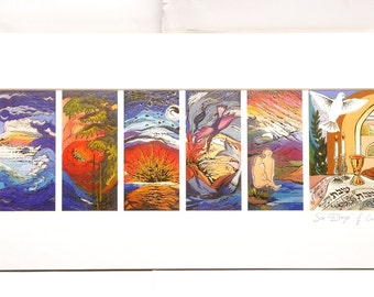 The Seven Seas By Brahah Levy Art