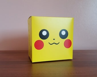 Game Boy Advance SP Console Box - Custom Pikachu Edition Repo Box Only